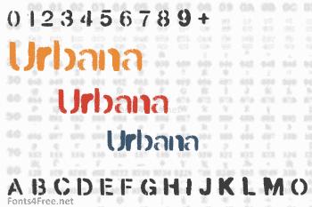 Urbana Font