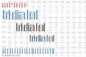 Urkelian Font