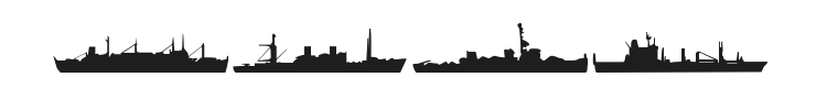 US Navy Font Preview