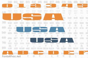 USA Font