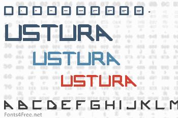 Ustura Font
