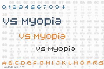 V5 Myopia Font