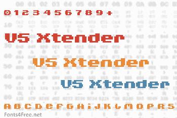 V5 Xtender Font