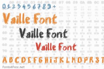 Vaille Font