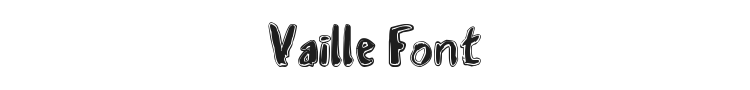 Vaille Font Preview