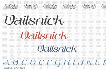 Vailsnick Font