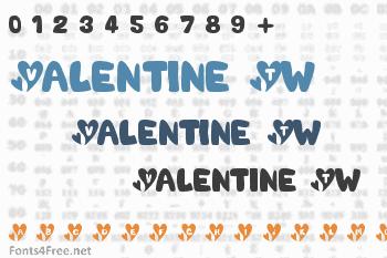 Valentine Tw Font