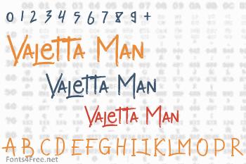 Valetta Man Font