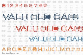 Valu Old Caps Font