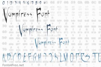 Vampiress Font
