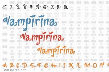 Vampirina Font