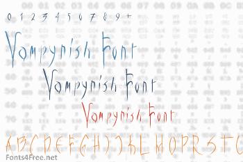 Vampyrish Font