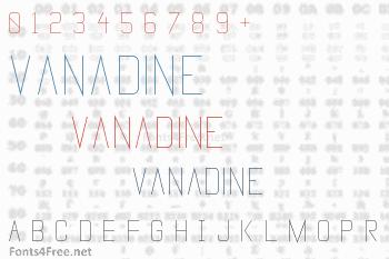 Vanadine Font