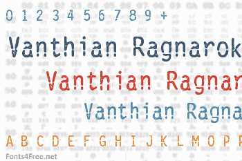 Vanthian Ragnarok Font