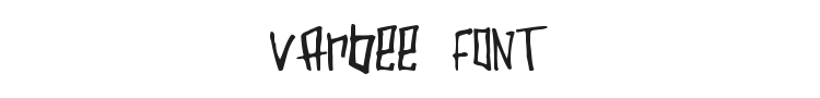 Varbee Font Preview
