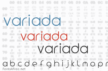 Variada Font