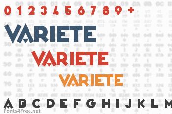 Variete Font