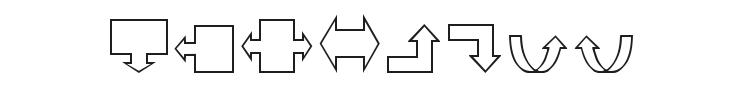 VariShapes Font Preview