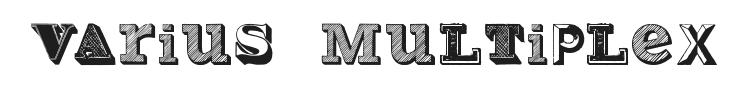 Varius Multiplex Font Preview