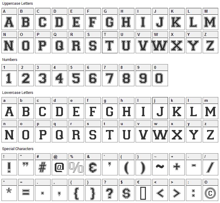 Varsity Regular Font Download - Fonts4Free
