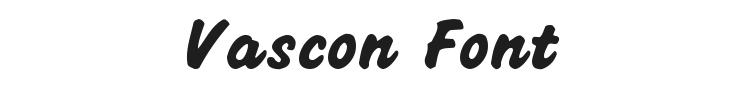 Vascon Font