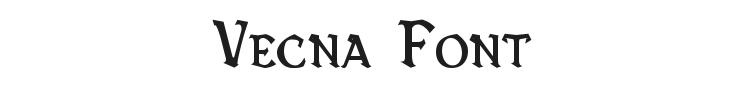 Vecna Font Preview