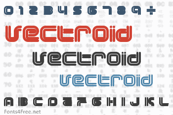 Vectroid Font