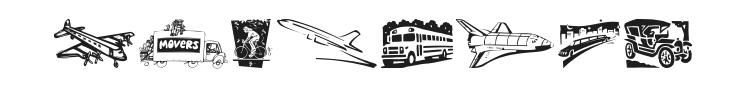 Vehicular Font
