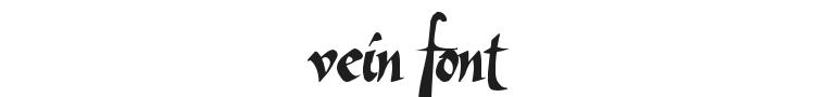 Vein Font