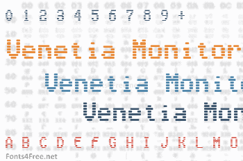 Venetia Monitor Font