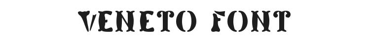 Veneto Font Preview