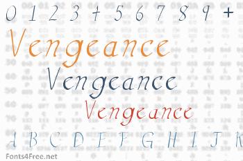 Vengeance Font