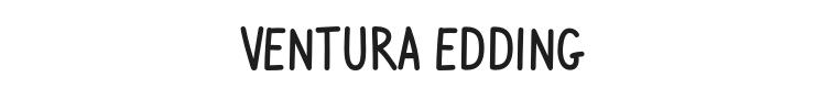 Ventura Edding Font Preview