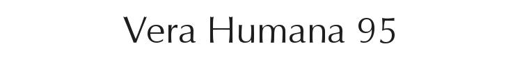 Vera Humana 95 Font Preview