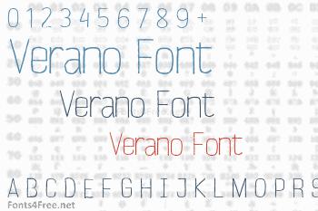 Verano Font