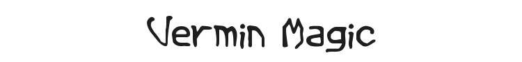 Vermin Magic Font