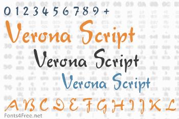 Verona Script Font