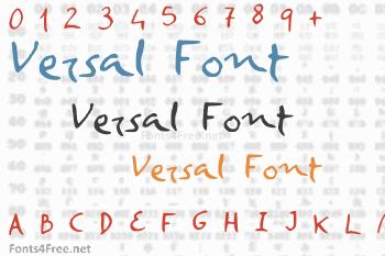 Versal Font
