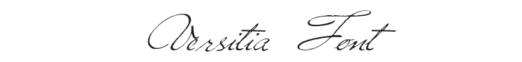 Versitia Font Preview