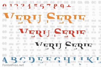 Veru Serif Font
