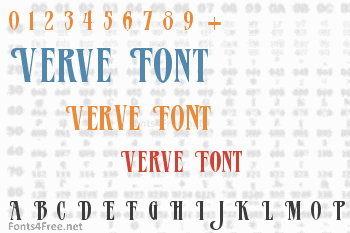 Verve Font