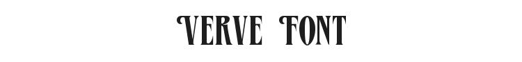 Verve Font Preview