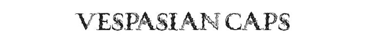 Vespasian Caps Font Preview