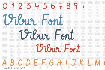 Vibur Font