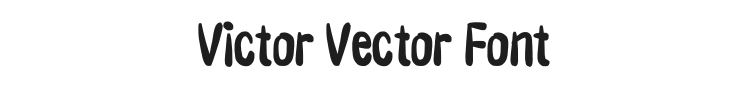 Victor Vector Font Preview