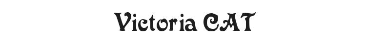 Victoria CAT Font Preview