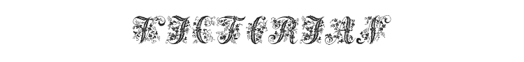 Victorian Initials One Font Preview