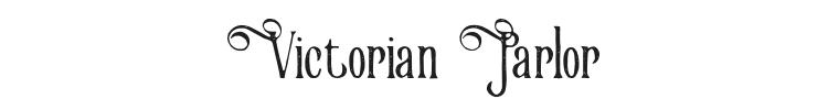 Victorian Parlor Font Preview