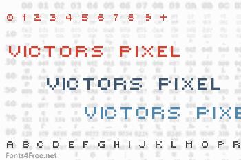 Victors Pixel Font
