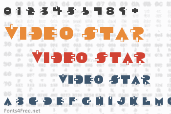 Video Star Font